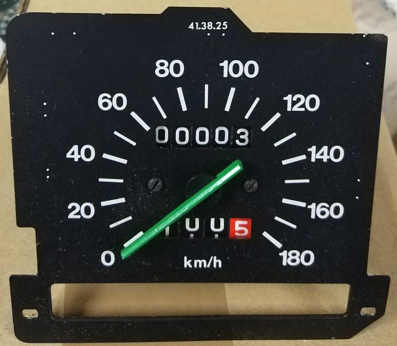 Cuentakm. velocímetro Seat 131 180 km/h