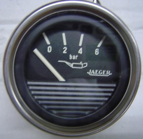 Manómetro. Reloj presión aceite Jaeger 6 bar