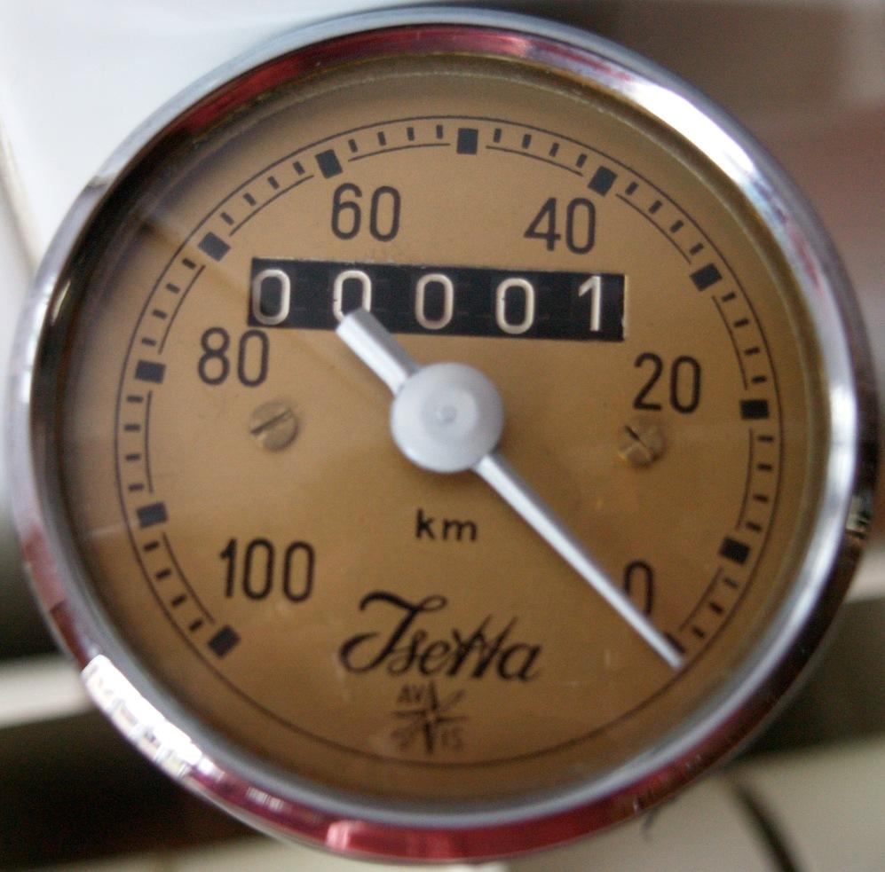 Cuentakm. Velocímetro Isetta 300
