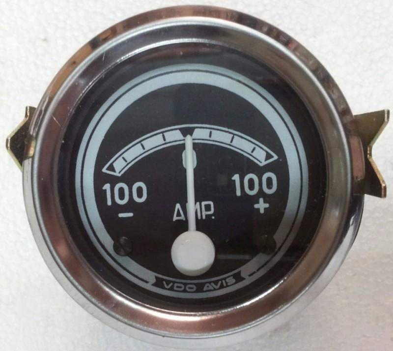 Amperímetro VDO 60mm. Diámetro -100  0  100+