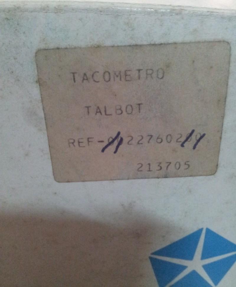 Cuentakm. velocímetro Talbot Horizon