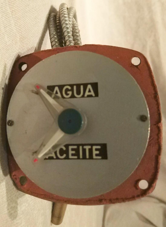 Reloj de temperatura y Manómetro Seat 1400