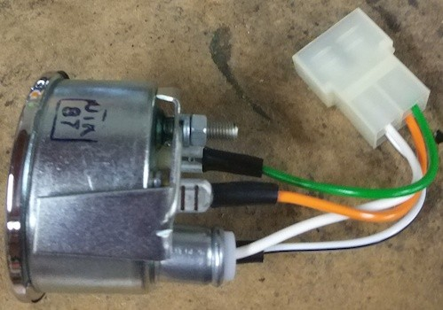 Termómetro temperatura de agua 12 voltios Veglia bressel