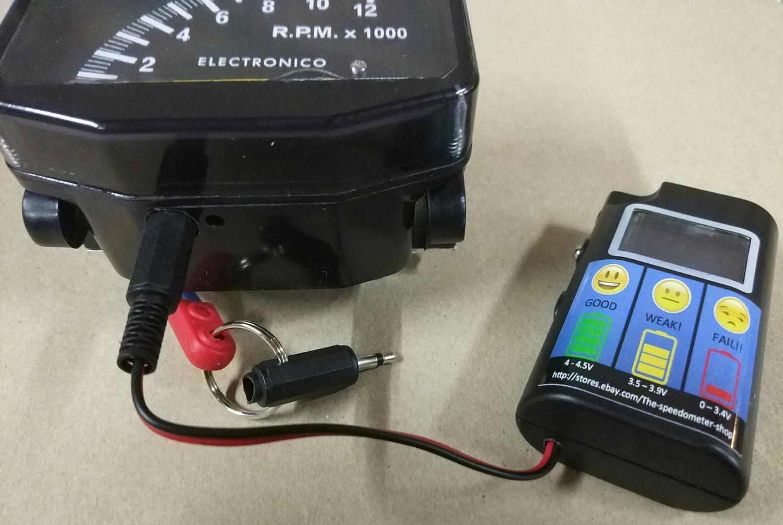 Tester Batería Motoplat Cuentavueltas