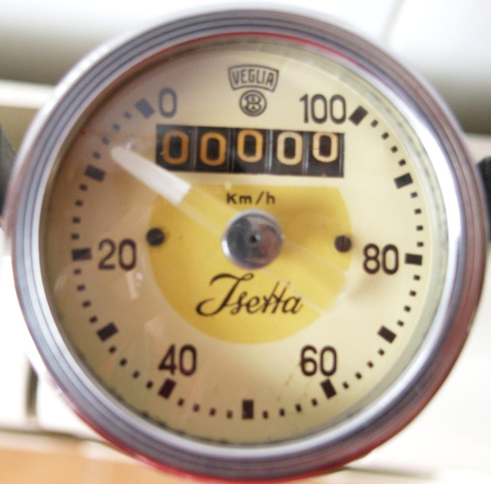 Cuentakm. Velocímetro Isetta 250