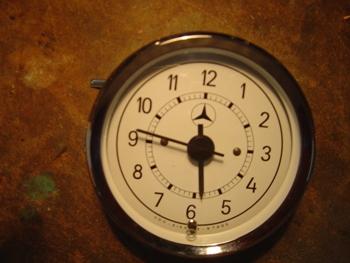 Reloj horario Mercedes 100mm