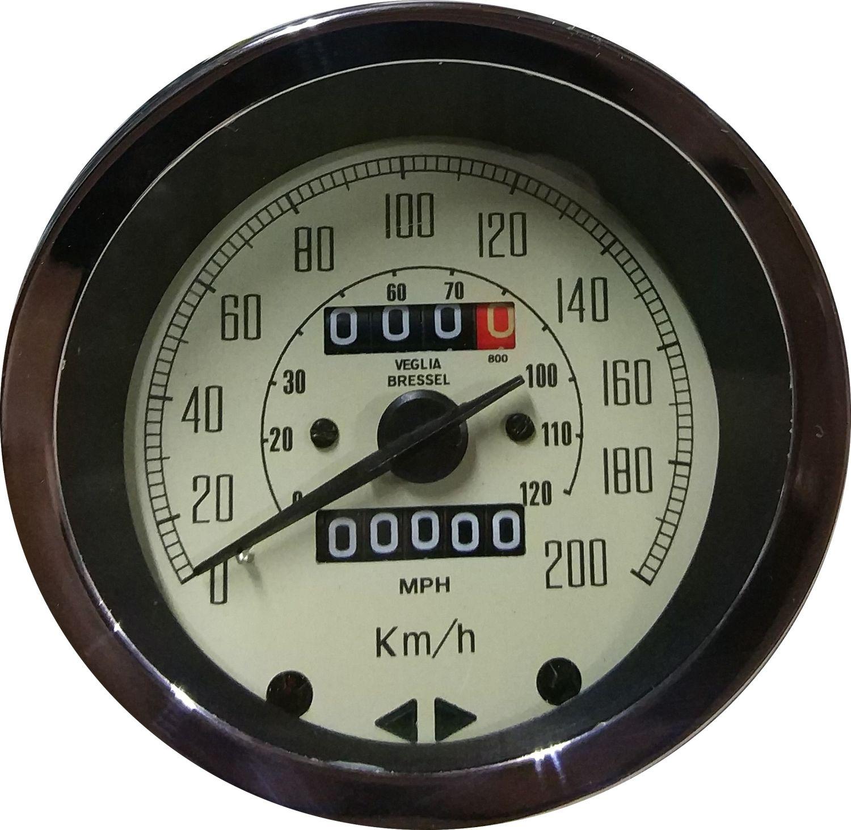 Cuentakm. Velocímetro Mini Cooper 1300 200 km/h beige + Cable