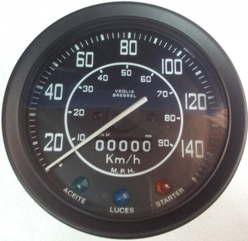 Velocímetro Cuentakm Land Rover SERIES IIA & III 88