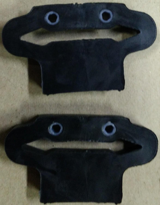 Pareja de gomas Motoplat - Krober