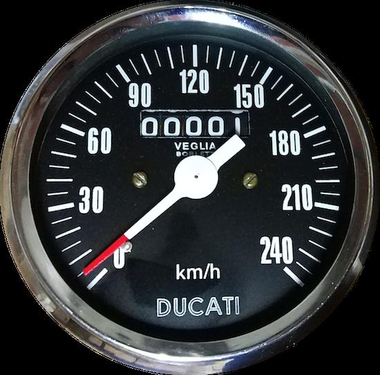 CUENTAKM. DUCATI DUCATI BEVEL 750SS 900 SS DARMAH VEGLIA