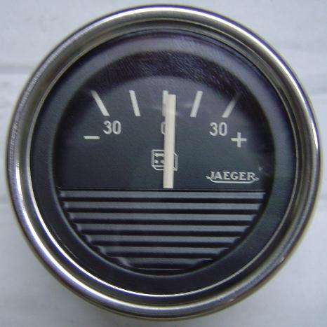 Amperímetro 52 mm. Jaeger -30  0   30+