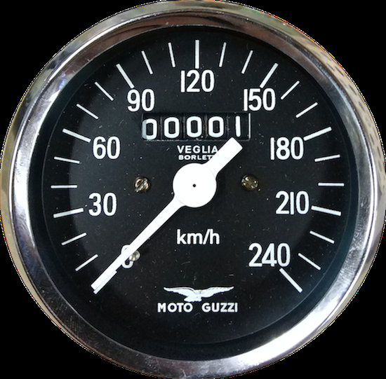 Cuentakm. Velocímetro Moto Guzzi V7 Special, V7 Sport, 750 S VEGLIA
