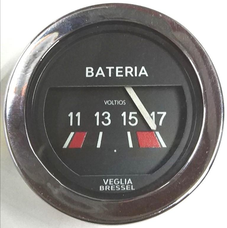 Voltímetro Veglia Bressel 52mm